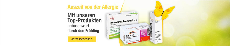 Auszeit von der Allergie – Mit 2-fach Bonuspunkten unbeschwert durch den Frühling