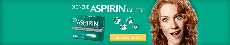 Aspirin günstig online kaufen.