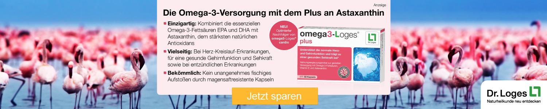 Jetzt omega3-Loges plus  günstig online kaufen!