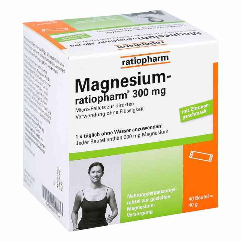 Magnesium Ratiopharm 300 mg Micro Pell.m.gran.  bei apotheke.at bestellen