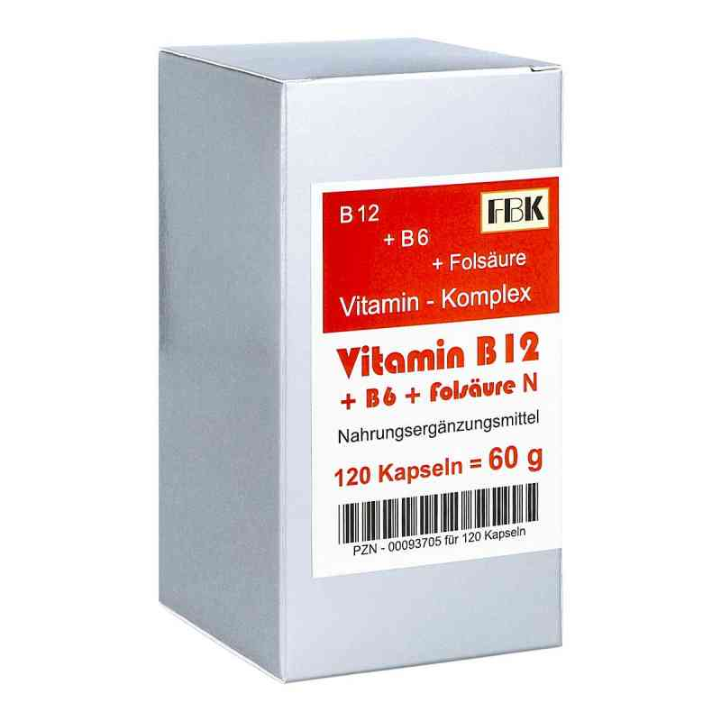 Vitamin B12 + B6 + Folsäure Komplex N Kapseln  bei apotheke.at bestellen