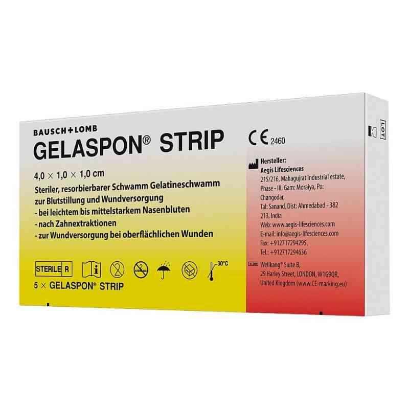 Gelaspon Strip 4x1x1 cm Streifen  bei apotheke.at bestellen