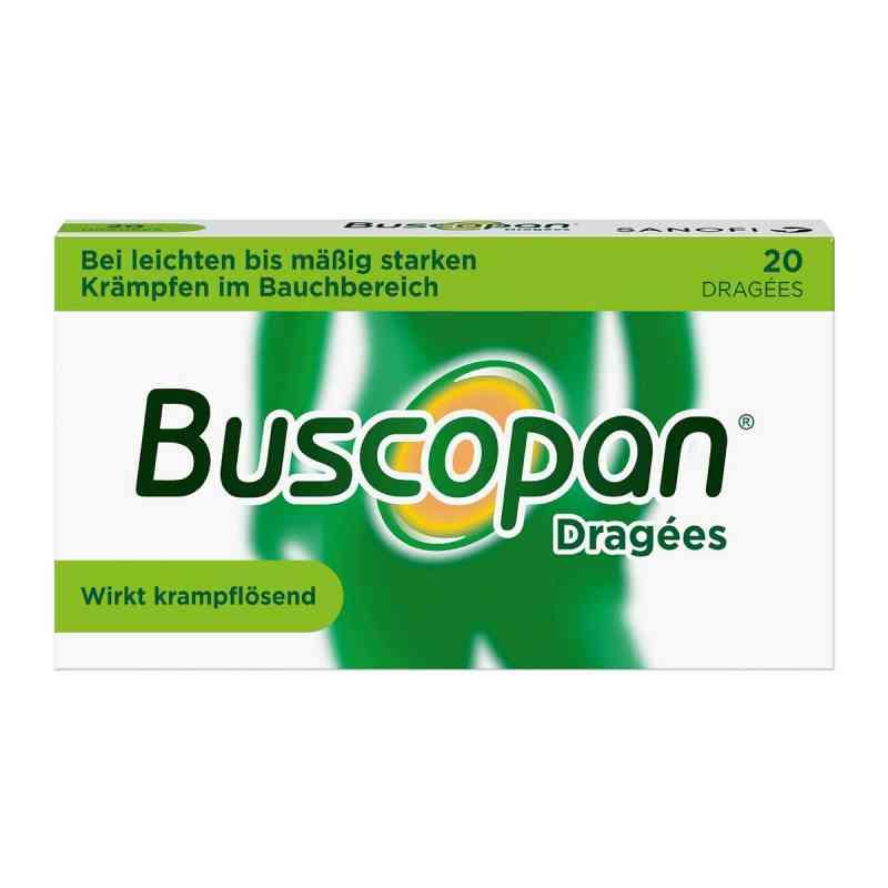 Buscopan Dragées bei leichten bis moderaten Bauchkrämpfen  bei apotheke.at bestellen