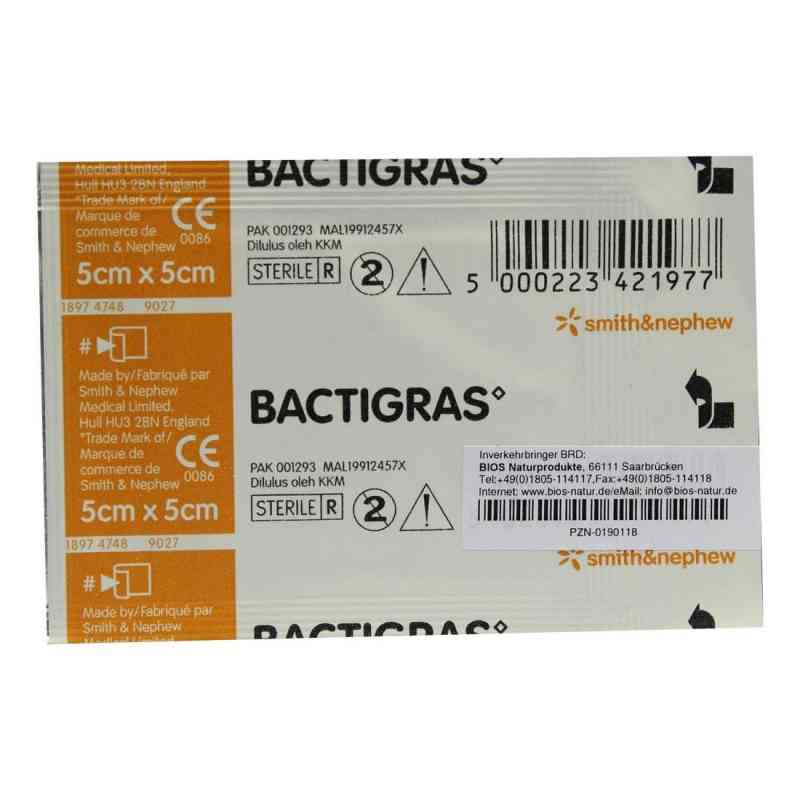 Bactigras Paraffingaze 5x5cm  bei apotheke.at bestellen