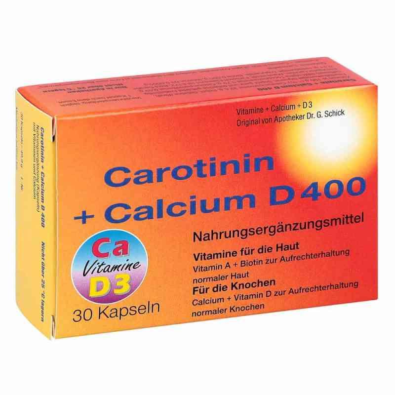 Carotinin + Calcium D 400 Kapseln  bei apotheke.at bestellen