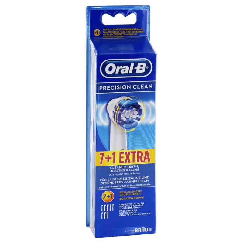 Oral B Aufsteckbürsten Precision Clean 7er+1  bei apotheke.at bestellen
