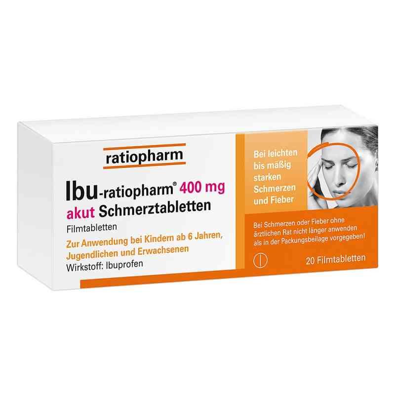 IBU-ratiopharm 400 akut Schmerztabletten  bei apotheke.at bestellen