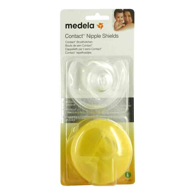 Medela Brusthütchen Contact L mit Aufbw.Box  bei apotheke.at bestellen