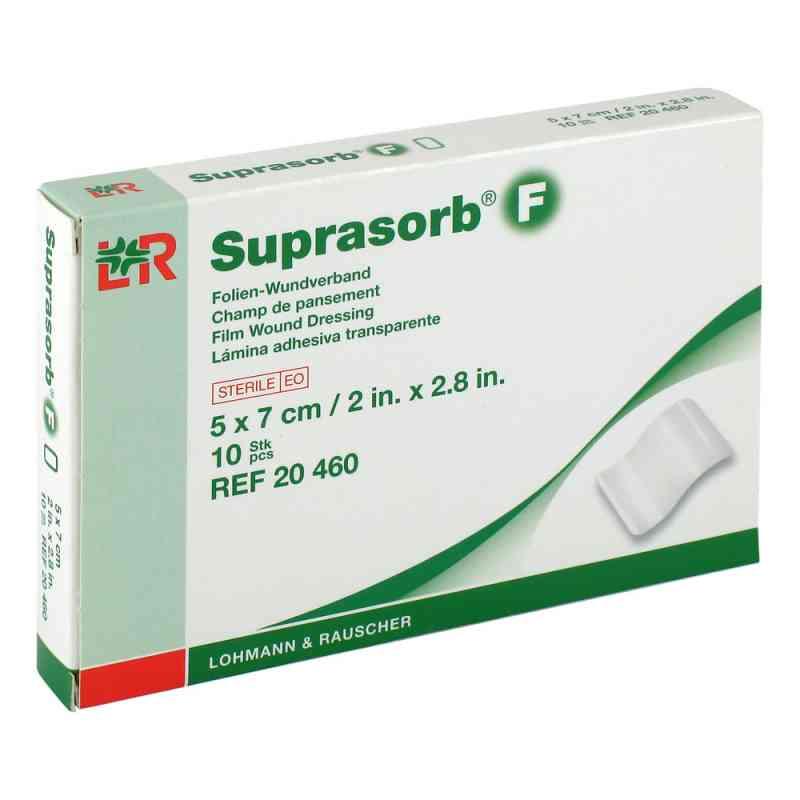 Suprasorb F Folien Wundverband 5x7cm steril  bei apotheke.at bestellen