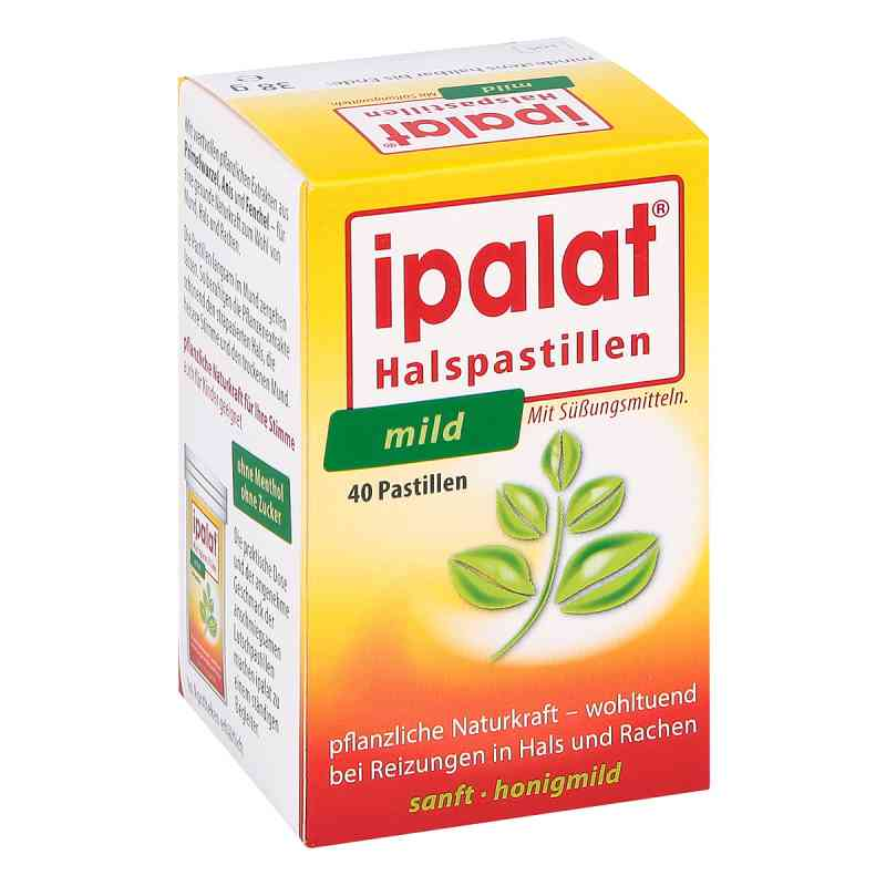 Ipalat Halspastillen mild  bei apotheke.at bestellen