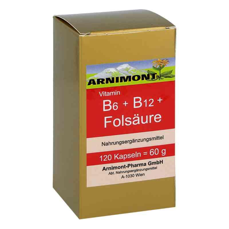 Vitamin B6 + B12 + Folsaüre Kapseln  bei apotheke.at bestellen
