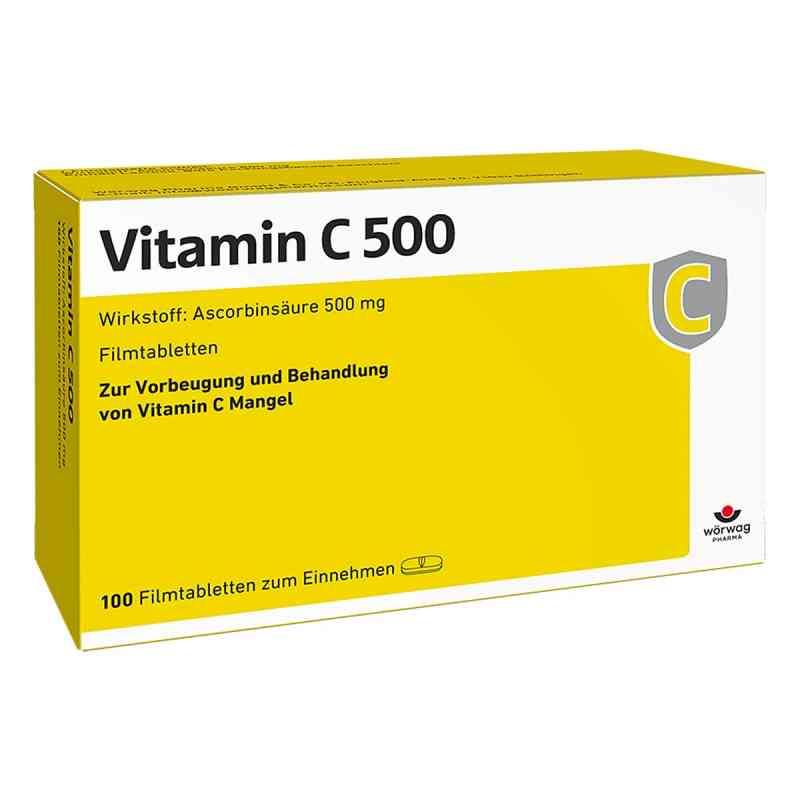 Vitamin C 500 Filmtabletten  bei apotheke.at bestellen