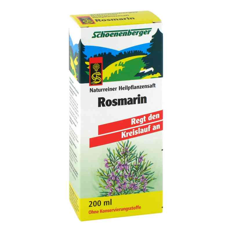 Rosmarin Saft Schoenenberger Heilpflanzensäfte bei apotheke.at bestellen
