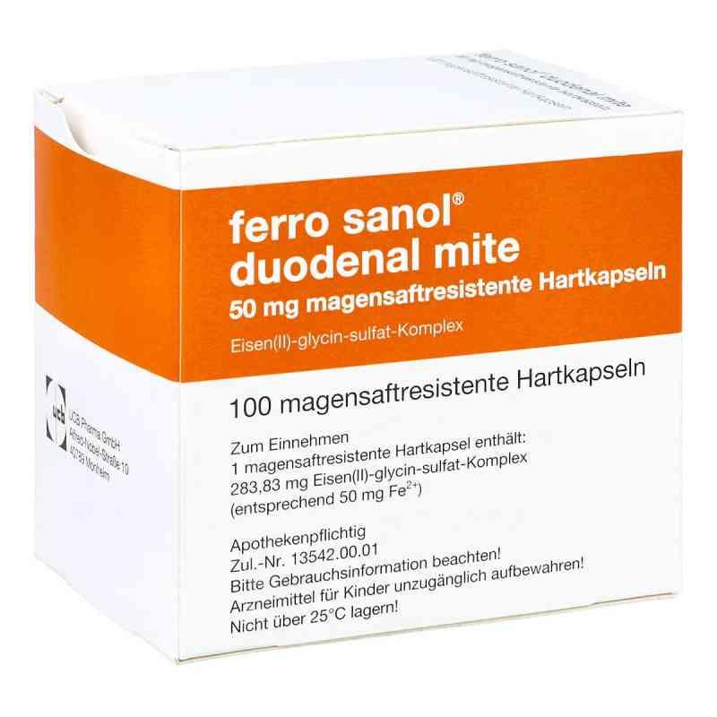 Ferro sanol duodenal mite 50mg  bei apotheke.at bestellen