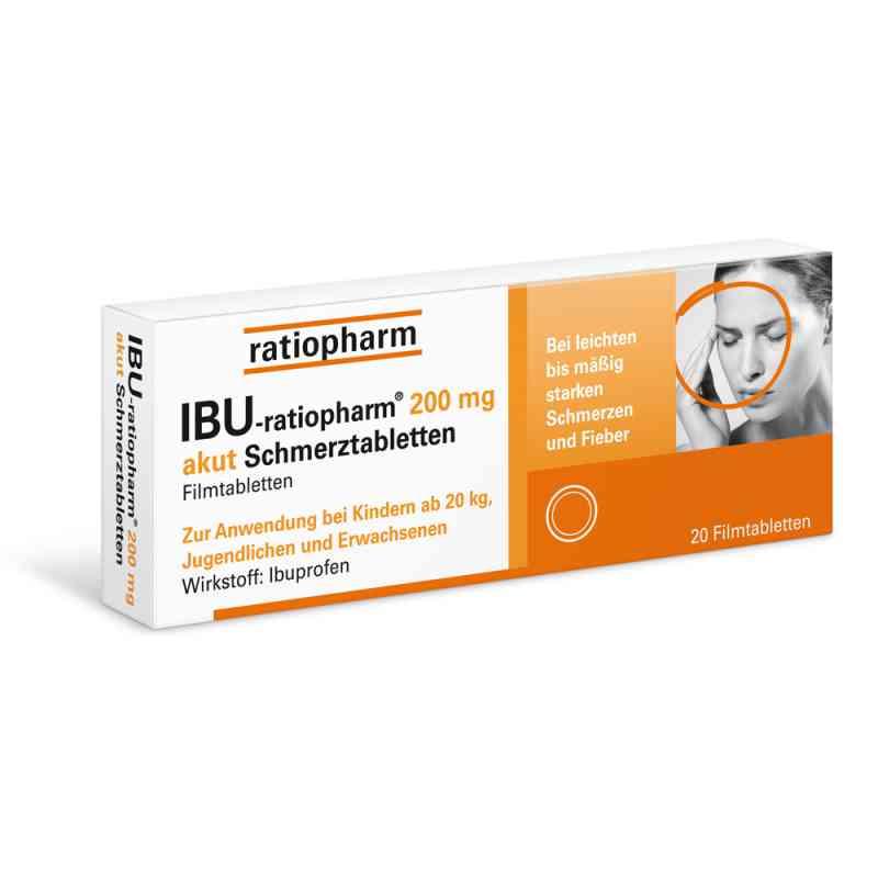 IBU-ratiopharm 200 akut Schmerztabletten  bei apotheke.at bestellen