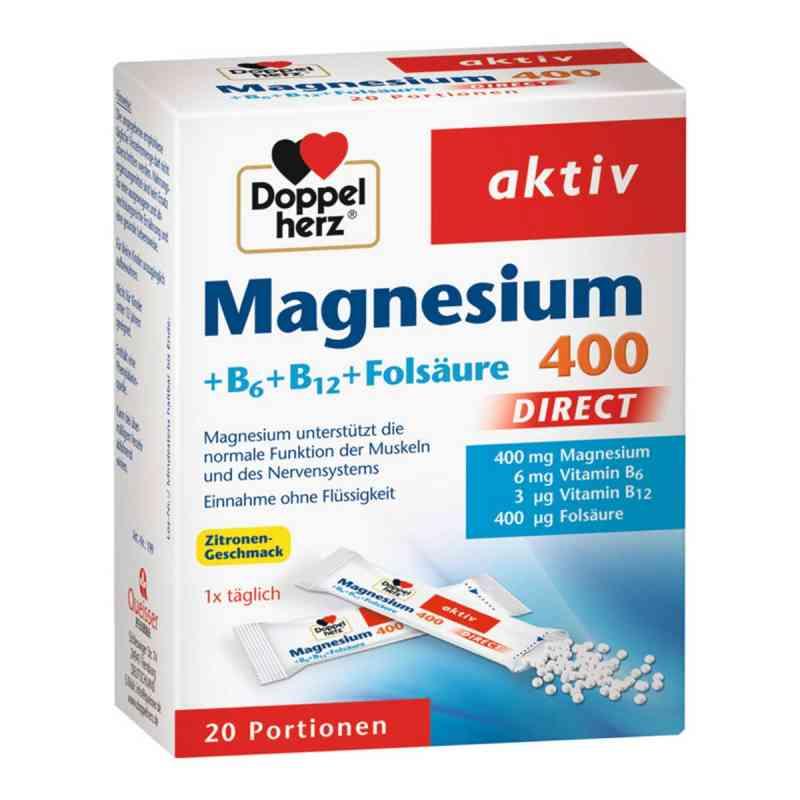 Doppelherz Magnesium + B Vitamine Direkt Pellets  bei apotheke.at bestellen