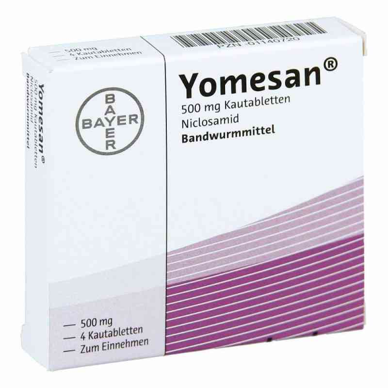 Yomesan 500 mg Kautabletten  bei apotheke.at bestellen