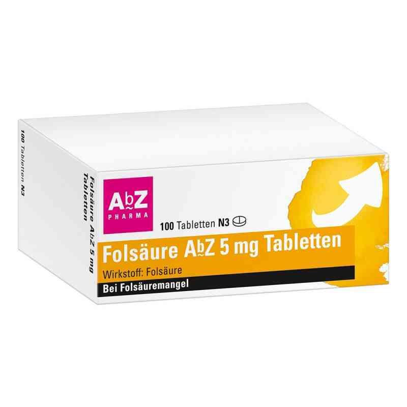 Folsäure Abz 5 mg Tabletten  bei apotheke.at bestellen