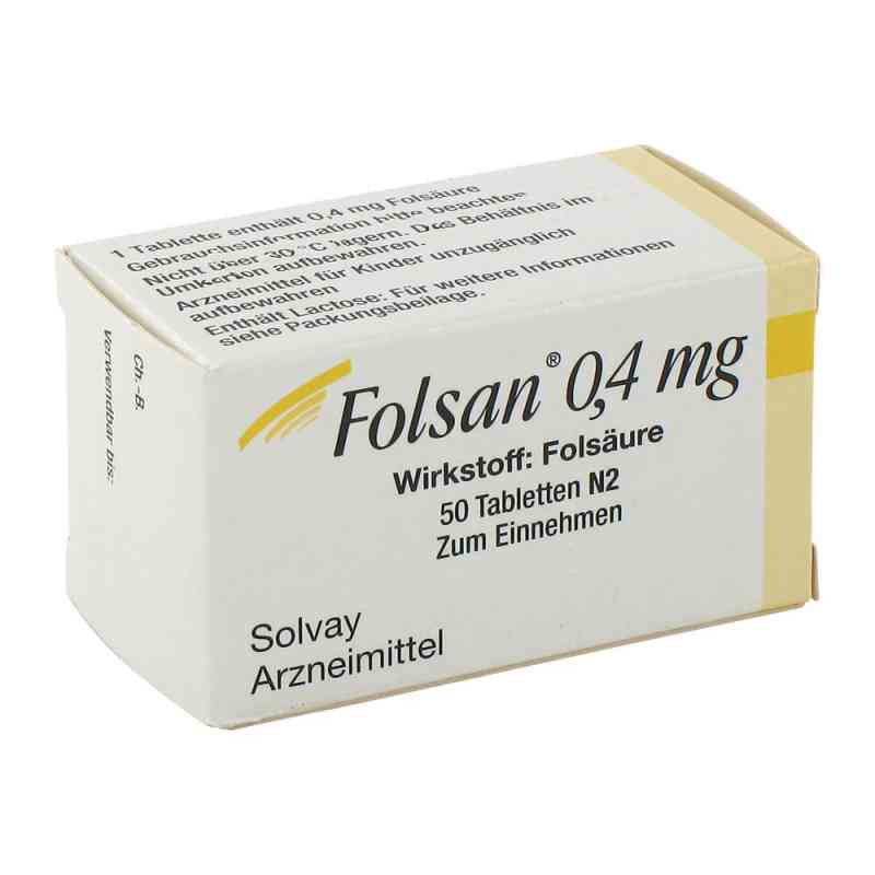 Folsan 0,4 mg Tabletten  bei apotheke.at bestellen