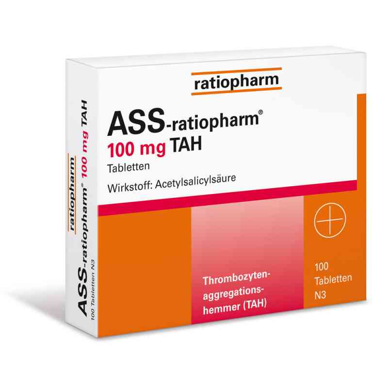 ASS-ratiopharm 100mg TAH bei apotheke.at bestellen