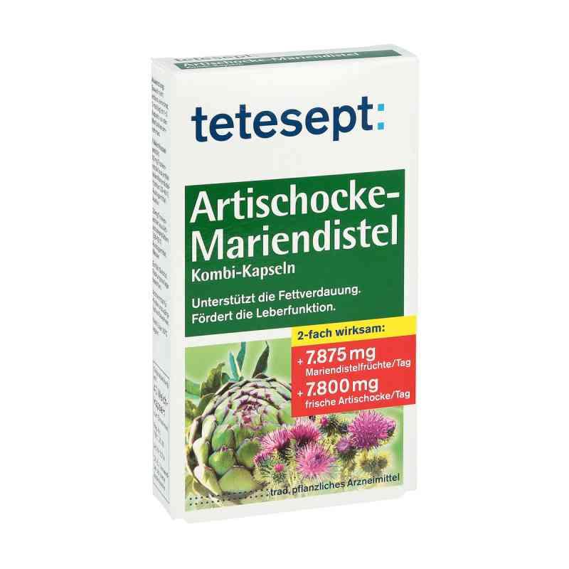 Tetesept Artischocke-Mariendistel Kombi-Kapseln  bei apotheke.at bestellen