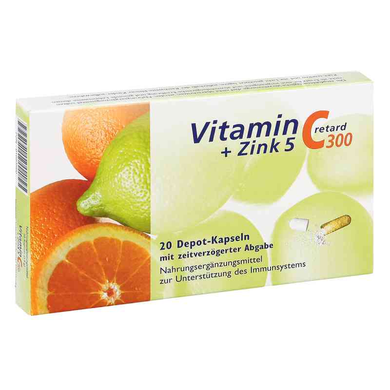 Vitamin C 300 + Zink 5 retard Kapseln  bei apotheke.at bestellen