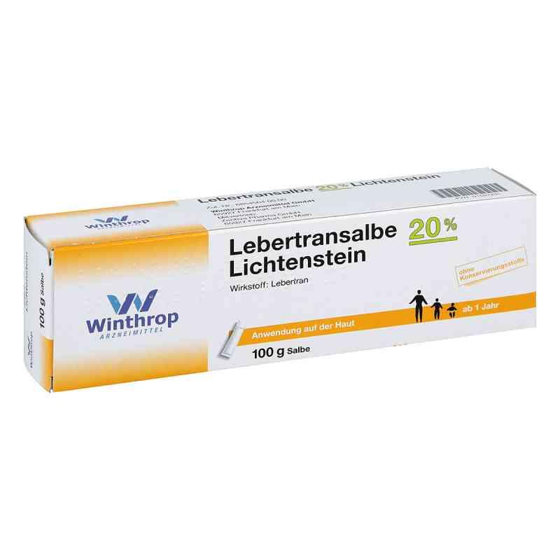 Lebertransalbe 20% Lichtenstein  bei apotheke.at bestellen