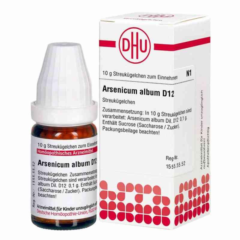 Arsenicum Album D 12 Globuli  bei apotheke.at bestellen