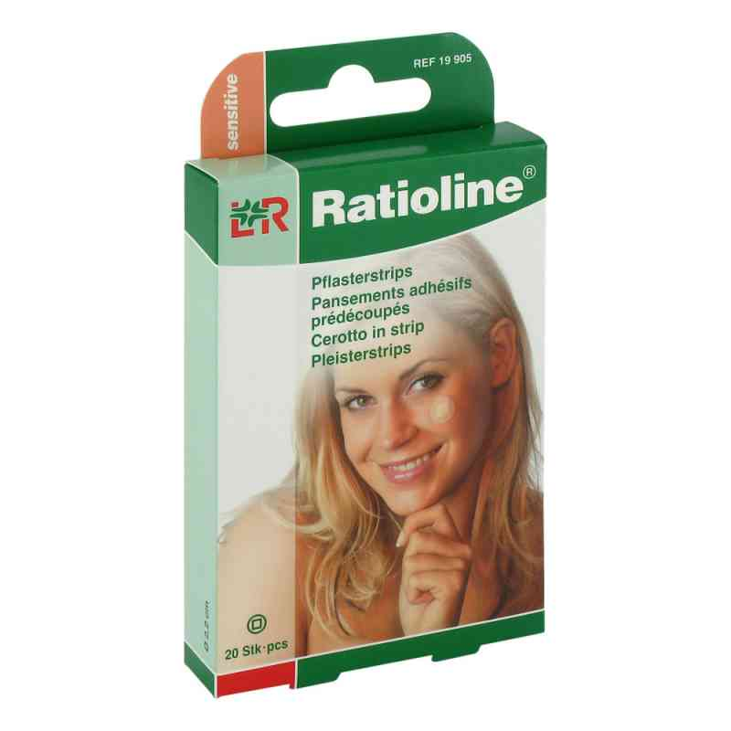 Ratioline sensitive Pflasterstrips rund  bei apotheke.at bestellen