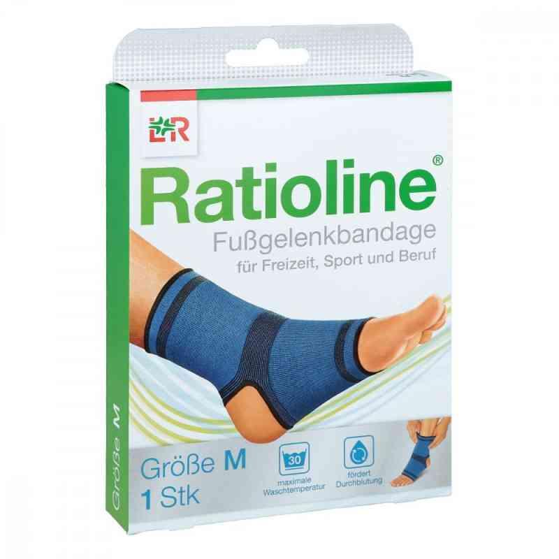 Ratioline active Fussgelenkbandage Größe m  bei apotheke.at bestellen