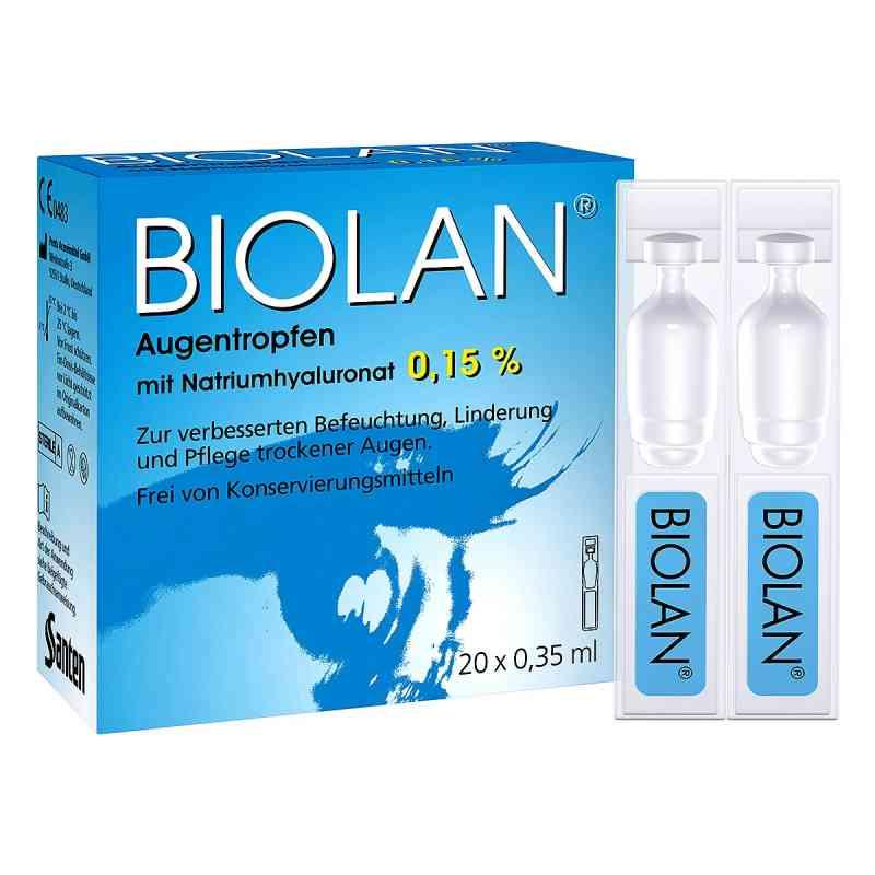 Biolan Augentropfen Einzeldosispipetten  bei apotheke.at bestellen