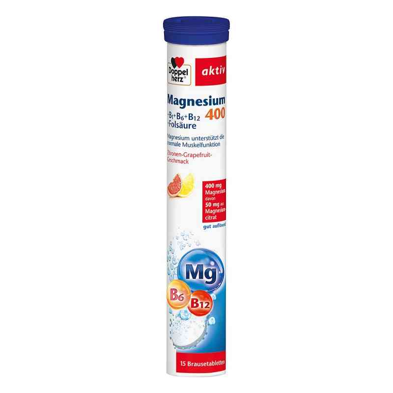 Doppelherz Magnesium 400+b Vitamine +fols. Brausetabletten  bei apotheke.at bestellen
