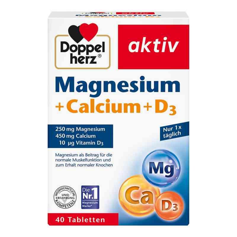 Doppelherz Magnesium + Calcium + D3 Tabletten  bei apotheke.at bestellen