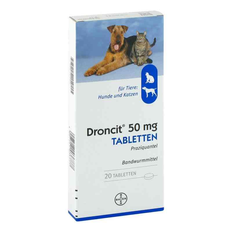 Droncit Tabletten für Hunde/katzen  bei apotheke.at bestellen