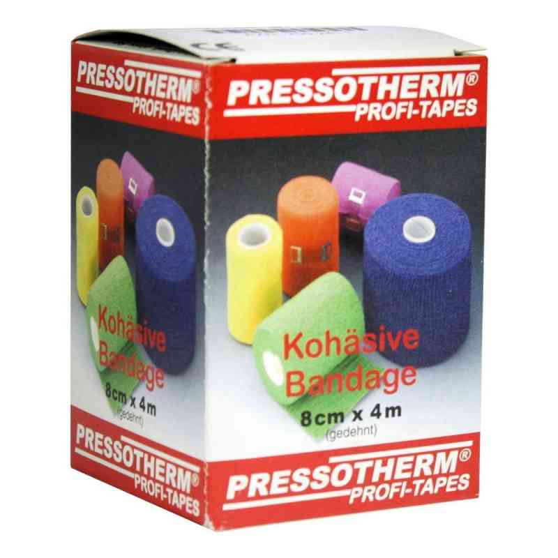 Pressotherm Kohäsive Bandage 8cmx4m grün  bei apotheke.at bestellen