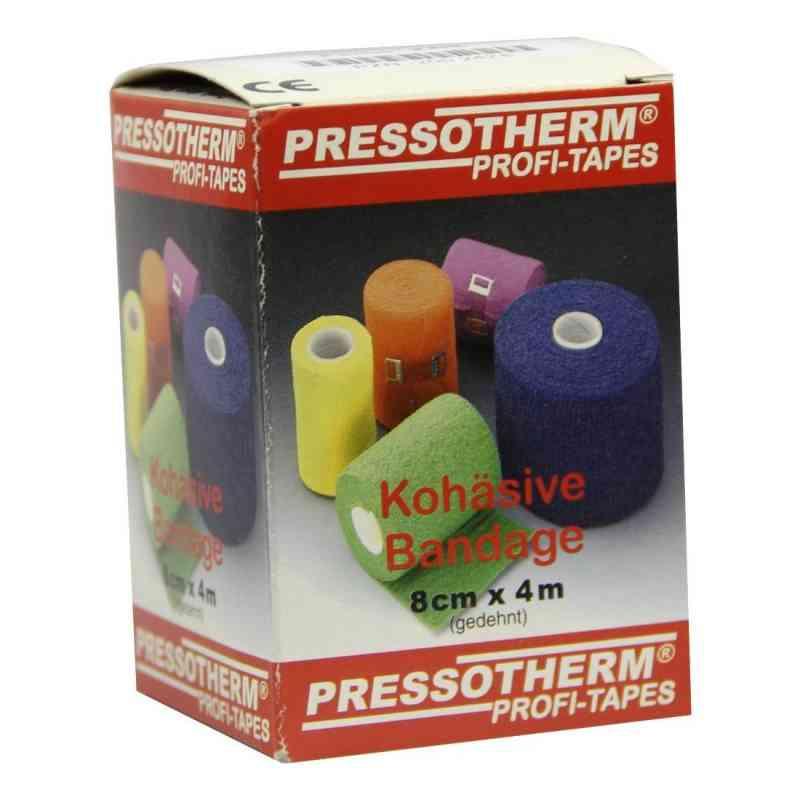Pressotherm Kohäsive Bandage 8cmx4m rot  bei apotheke.at bestellen