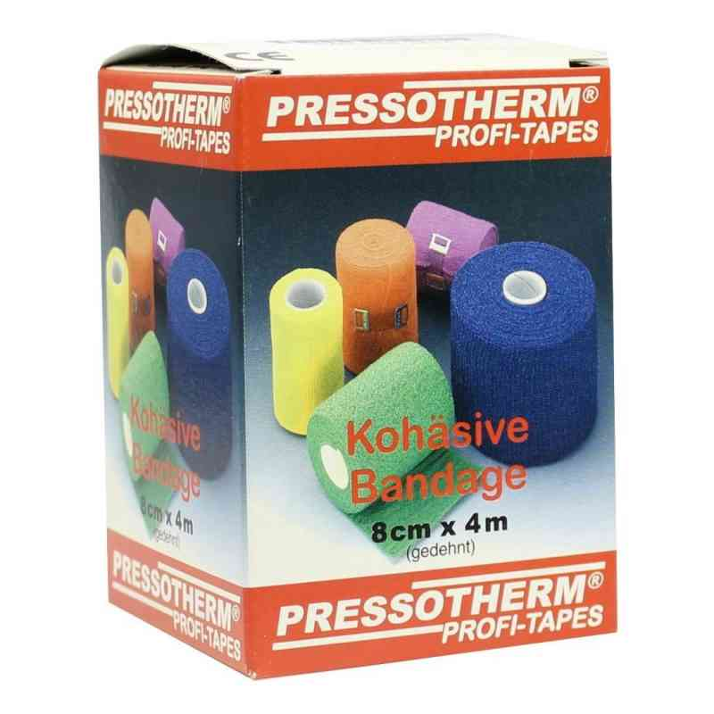 Pressotherm Kohäsive Bandage 8cmx4m gelb  bei apotheke.at bestellen