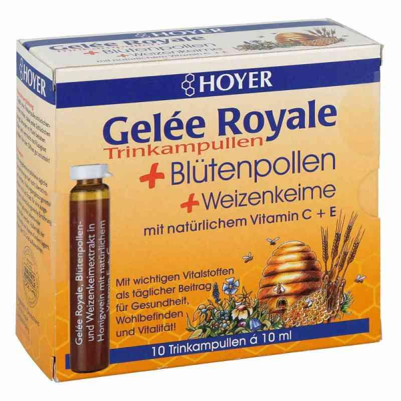 Hoyer Gelee Roy.+blütenpol.+weizenk. Trinkampullen  bei apotheke.at bestellen