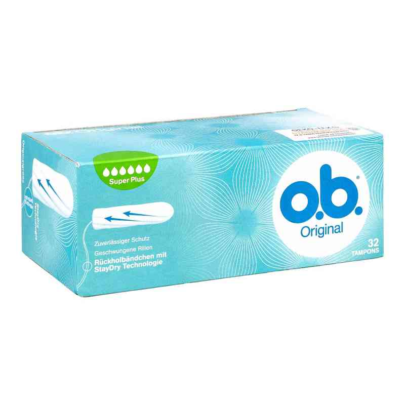 O.b. Tampons super plus bei apotheke.at bestellen