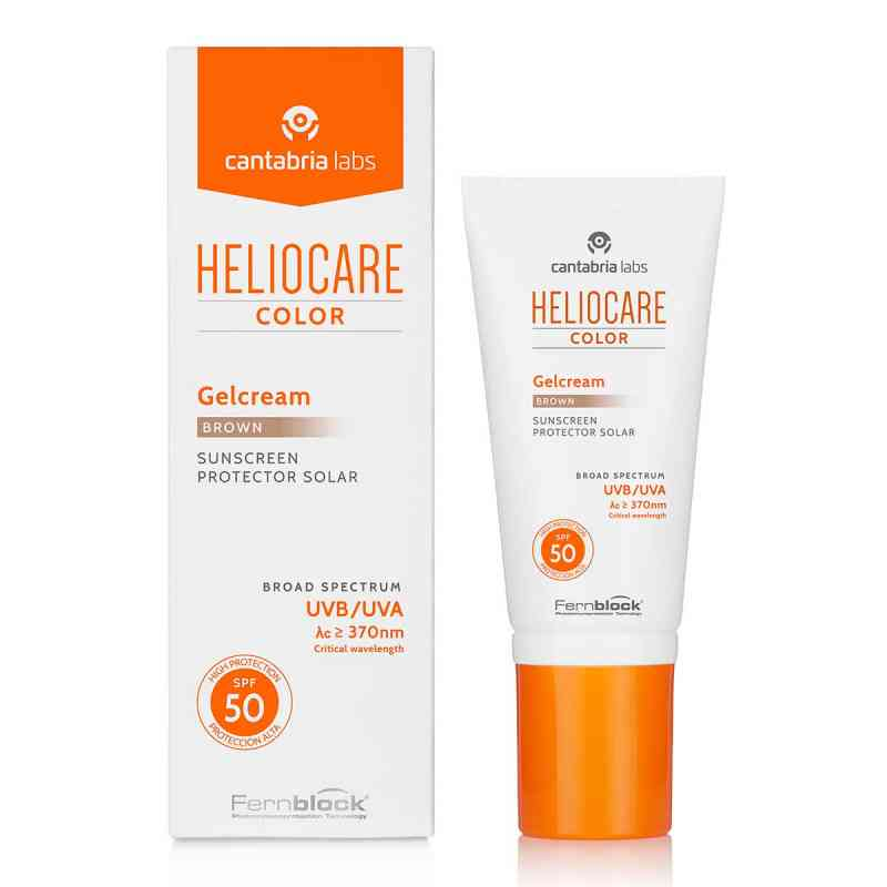 Heliocare Color Gelcream brown Spf50  bei apotheke.at bestellen