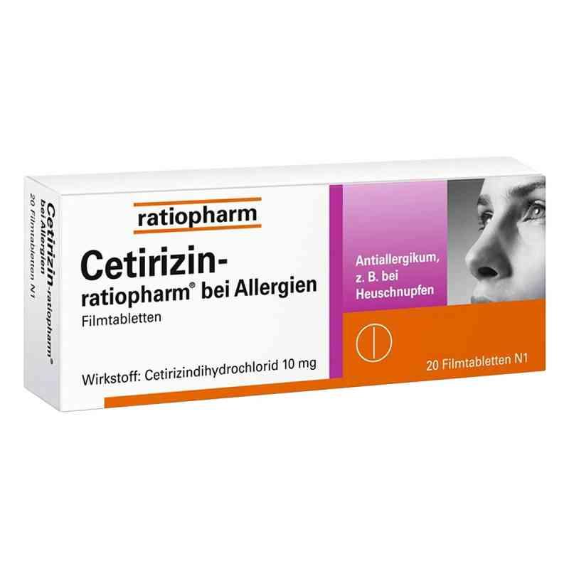 Cetirizin-ratiopharm bei Allergien bei apotheke.at bestellen