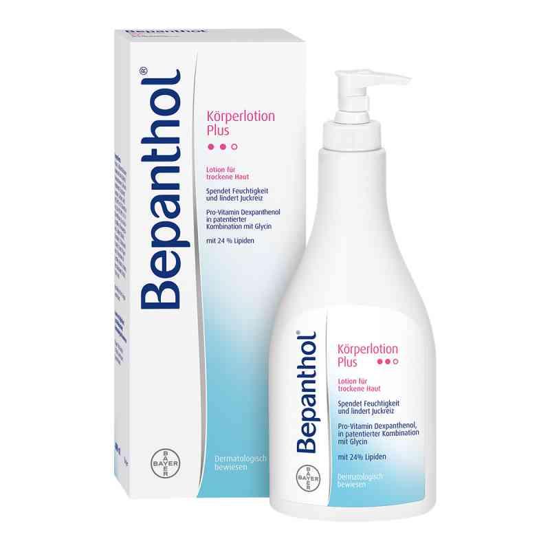 Bepanthol Körperlotion Plus Spenderflasche  bei apotheke.at bestellen