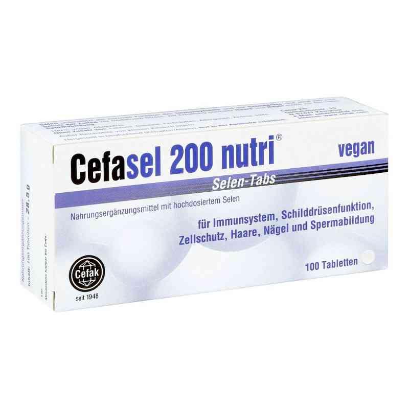 Cefasel 200 nutri Selen Tabs Tabletten bei apotheke.at bestellen