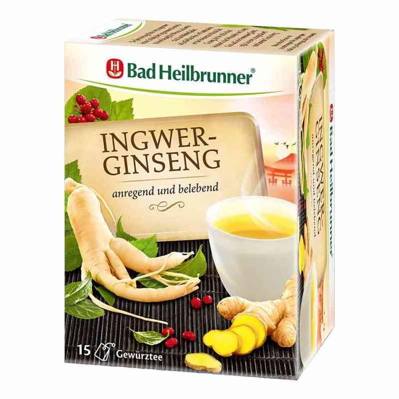Bad Heilbrunner Tee Ingwer Ginseng Filterbeutel  bei apotheke.at bestellen