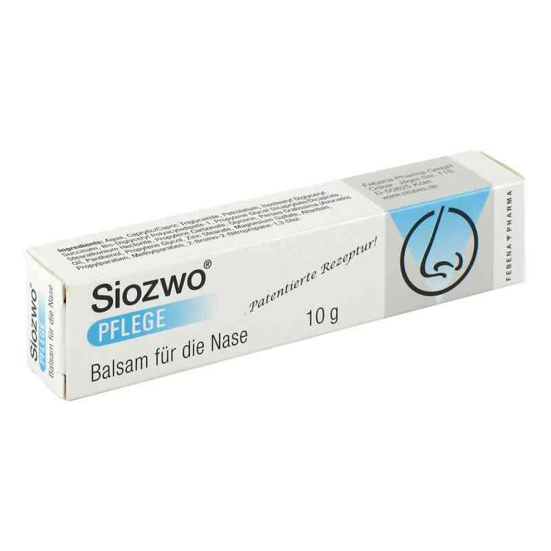 Siozwo Pflege Balsam für d. Nase  bei apotheke.at bestellen