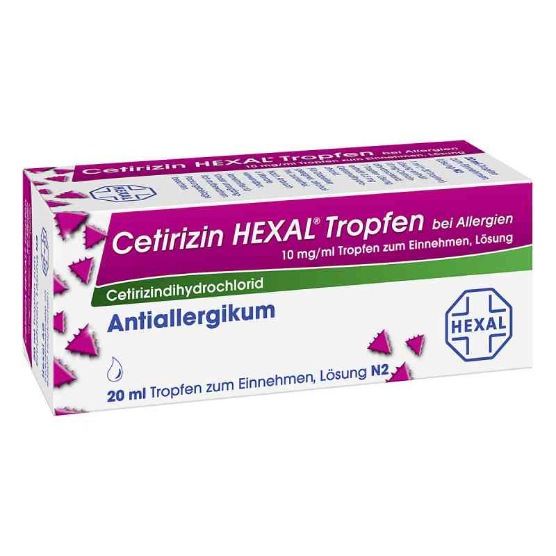 Cetirizin HEXAL bei Allergien 10mg/ml  bei apotheke.at bestellen