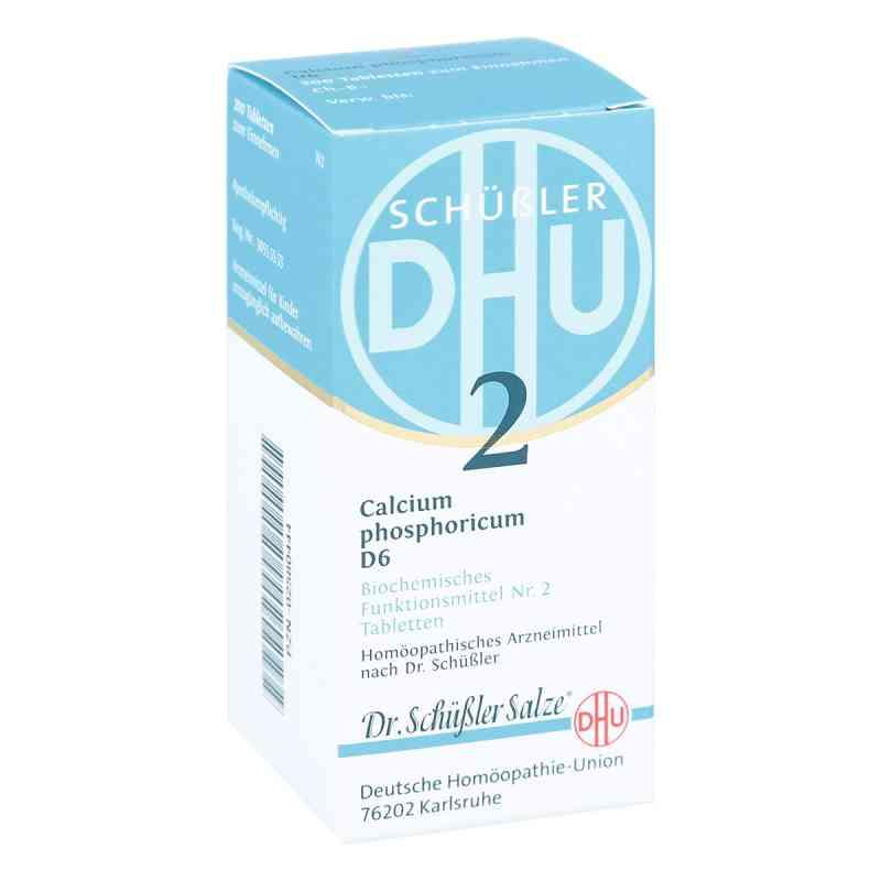 Biochemie Dhu 2 Calcium phosphorus D  6 Tabletten  bei apotheke.at bestellen