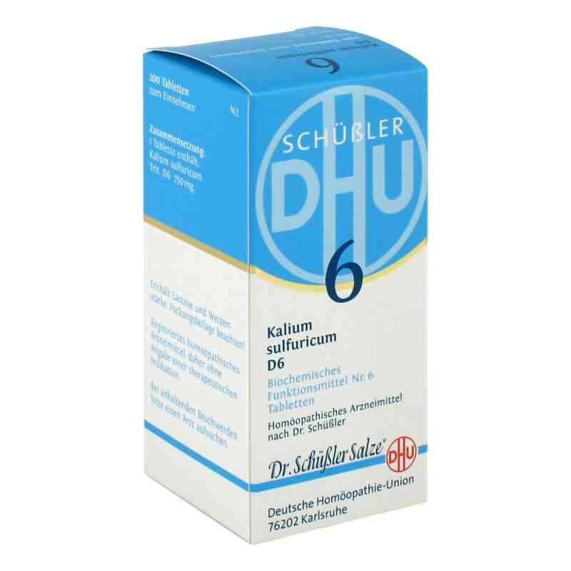 Biochemie Dhu 6 Kalium Sulfur D  6 Tabletten  bei apotheke.at bestellen