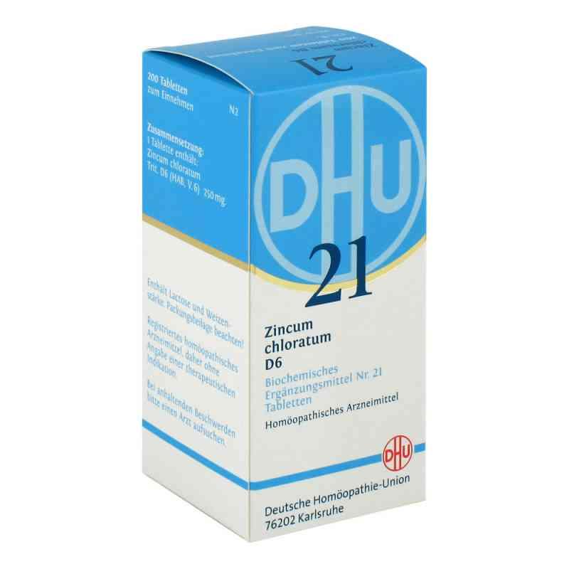 Biochemie Dhu 21 Zincum chloratum D 6 Tabletten bei apotheke.at bestellen