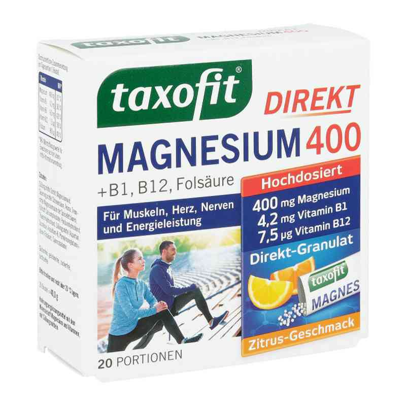 Taxofit Magnesium 400+b1+b6+b12+folsäure 800 Granulat  bei apotheke.at bestellen